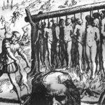 ヨーロッパ人は、アメリカ大陸の原住民を大虐殺した