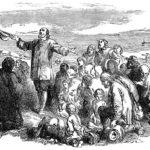 最初の移住者は、熱心なプロテスタントだった