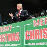 トランプは、「メリー・クリスマス」にこだわった